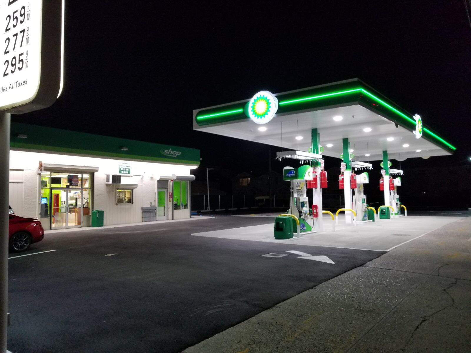 100-17 Beach Channel Drive BP Gas Station & Convenience Store